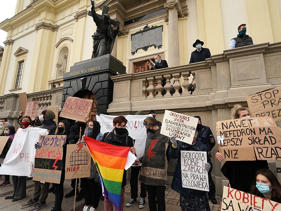 Den fünften Tag in Folge gab es Demonstrationen