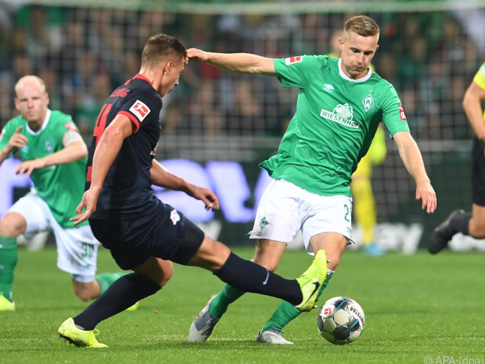 Der 22-Jährige kam bisher 46 Mal in der deutschen Bundesliga zum Zug