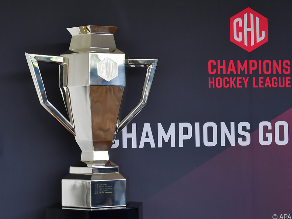 Der CHL-Pokal wird in dieser Saison nicht ausgespielt