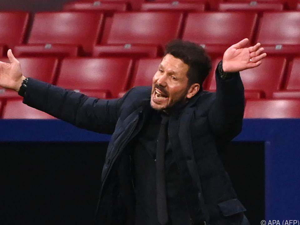 Der Dirigent des starken Gegners: Diego Simeone