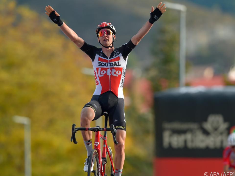 Der Niederländer Tim Wellens holte die Etappe