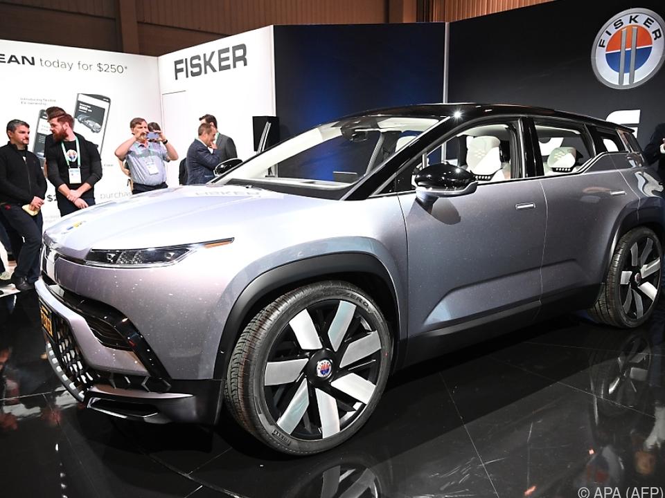 Der Ocean SUV ist ein Elektroauto