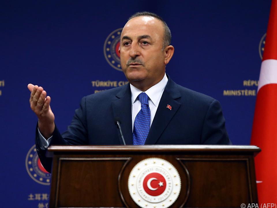 Der türkische Außenminister kündigte \