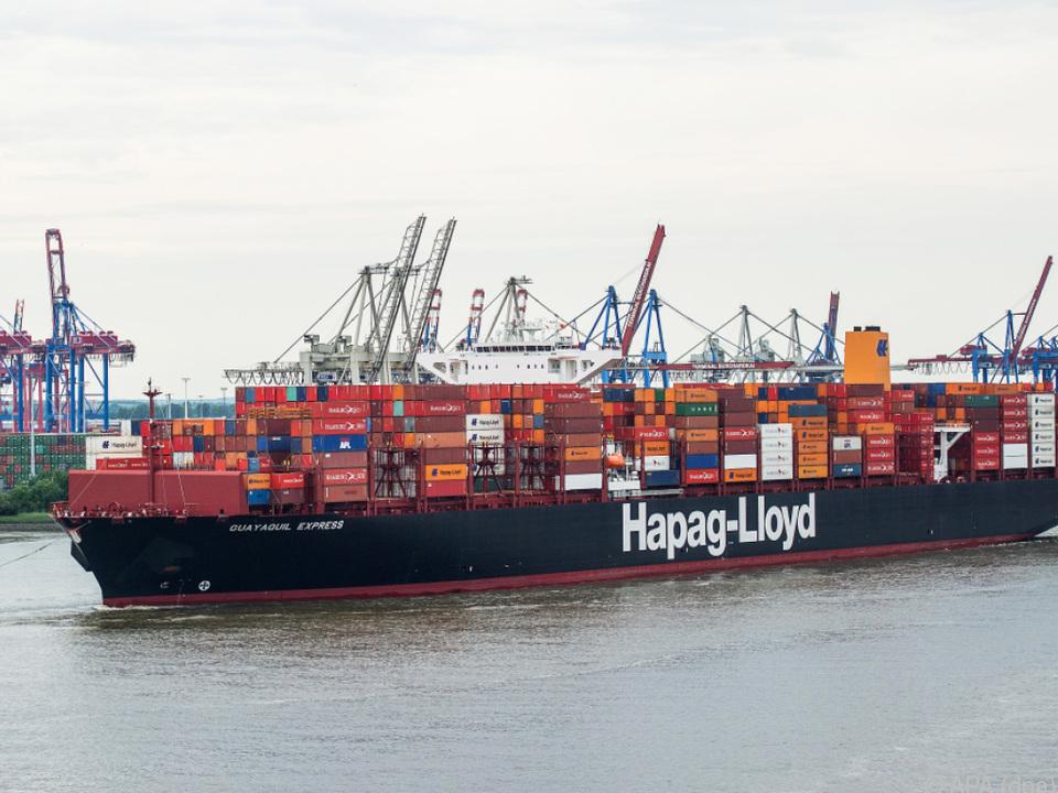 Der Warenverkehr übers Meer zieht wieder an
