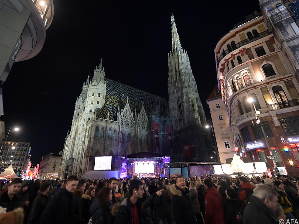 Der Wiener Silvesterpfad wird alljährlich am 31. Dezember veranstaltet