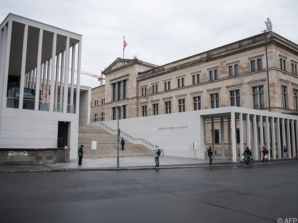 Die Berliner Museumsinsel scheint schlecht geschützt zu sein