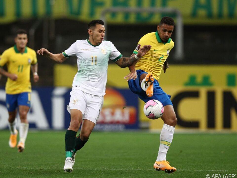 Die Brasilianer waren meistens einen Schritt voraus