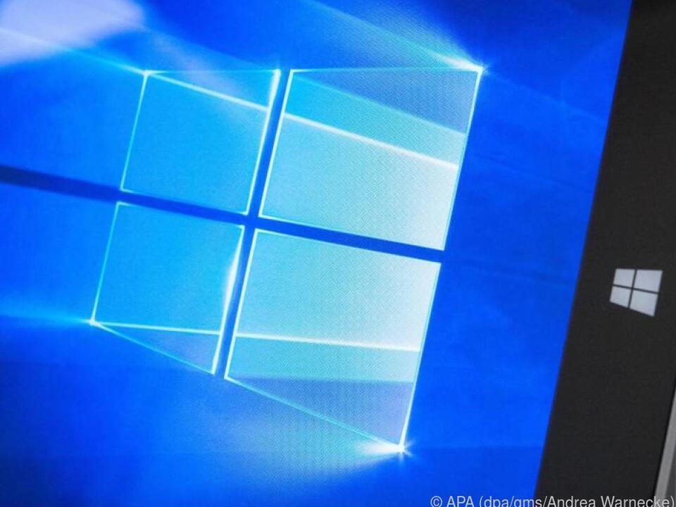 Die Diktierfunktion bei Windows 10 kann mit \