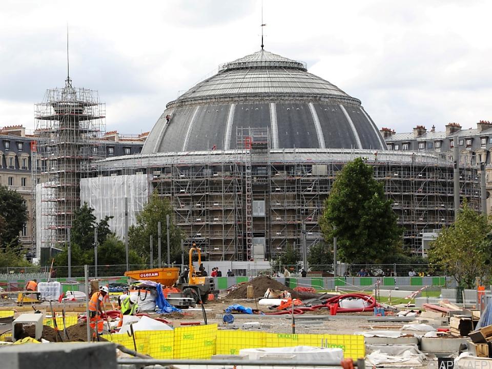 Die Handelsbörse wurde für 160 Millionen Euro umgebaut