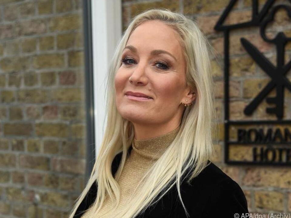 Die Schauspielerin Janine Kunze