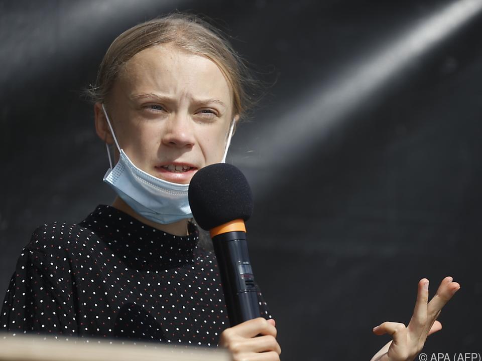 Die schwedische Umweltaktivistin Greta Thunberg
