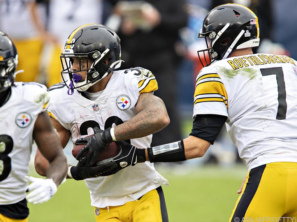 Die Steelers haben derzeit alles im Griff