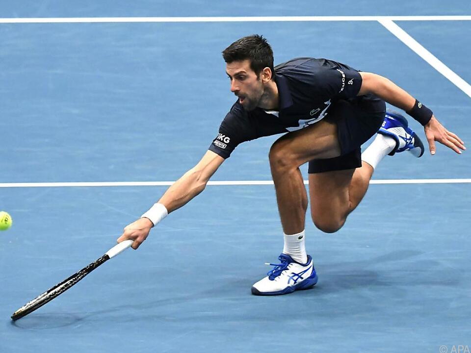 Djokovic musste wieder Tiebreak-Krimi überstehen
