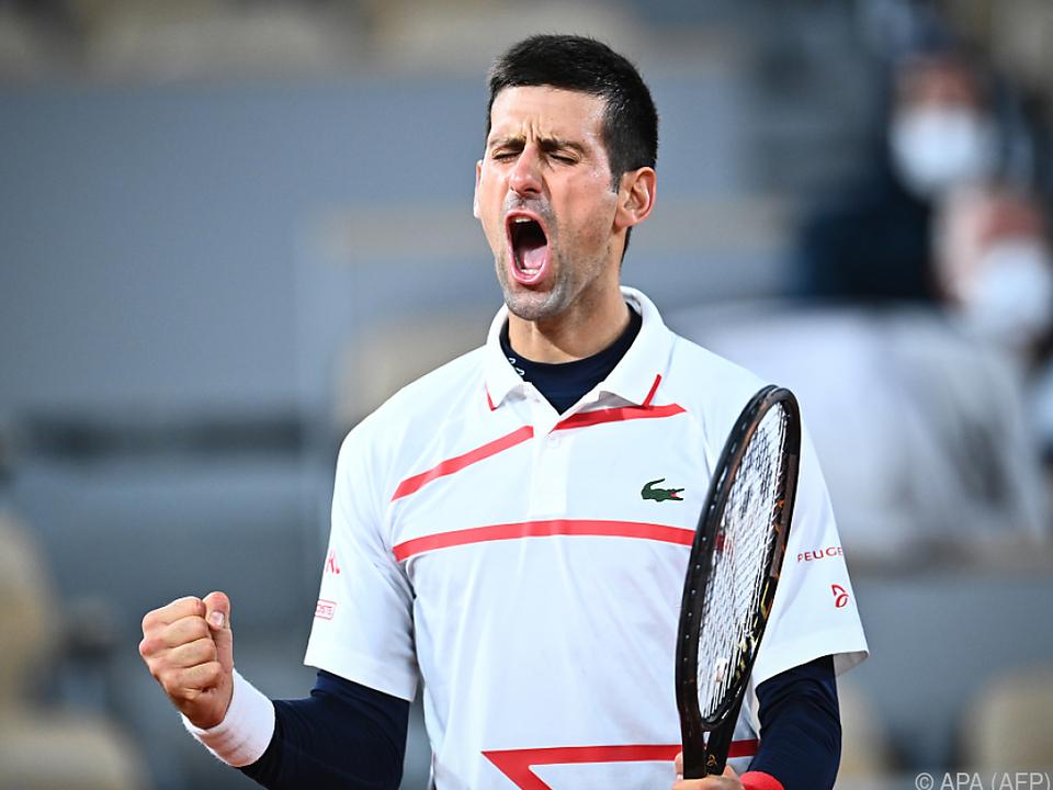 Djokovic schlug Pablo Carreno Busta
