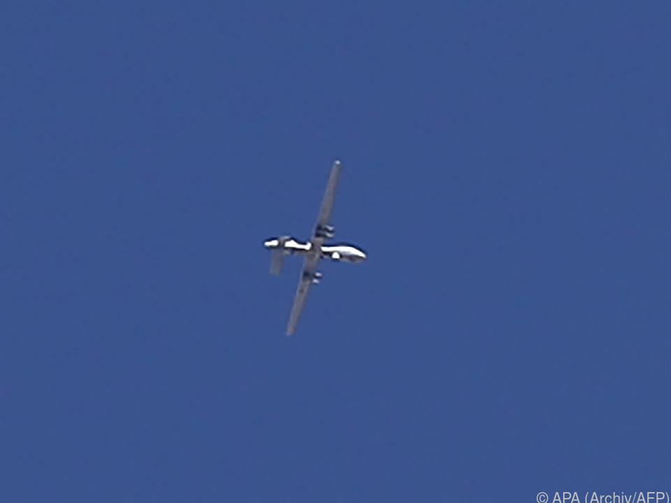 Drohnenangriff westlich der Rebellenhochburg Idlib
