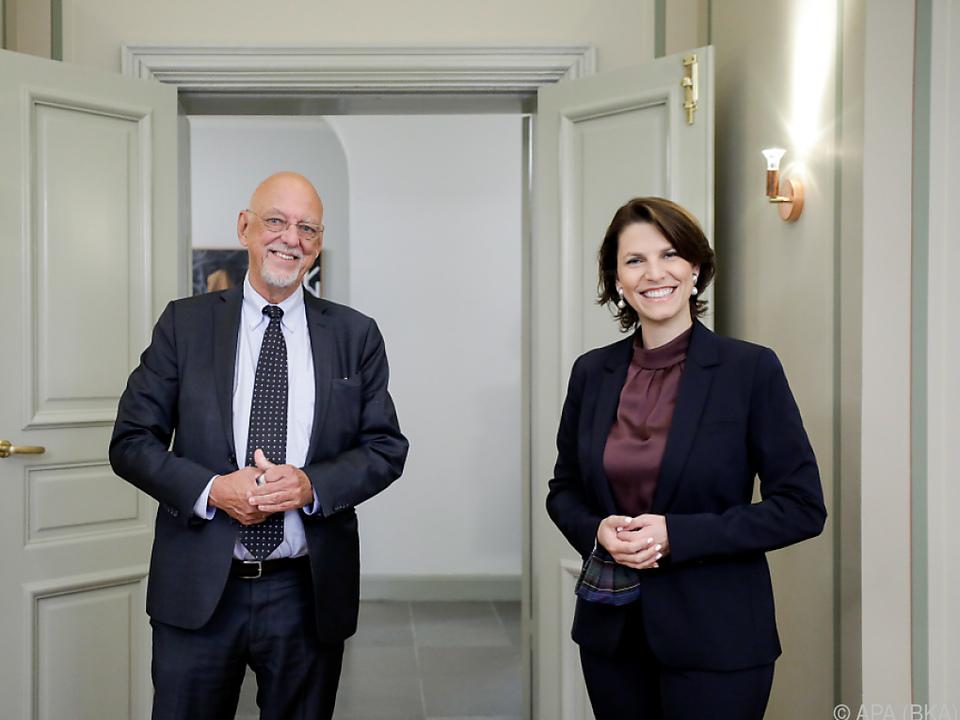 Edtstadler traf schwedischen Amtskollegen Dahlgren in Stockholm