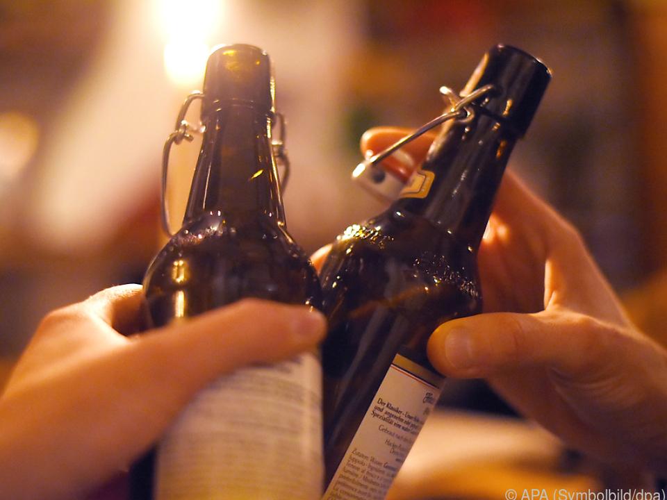 Eine Bierlieferung durch die Beamten ist unterblieben