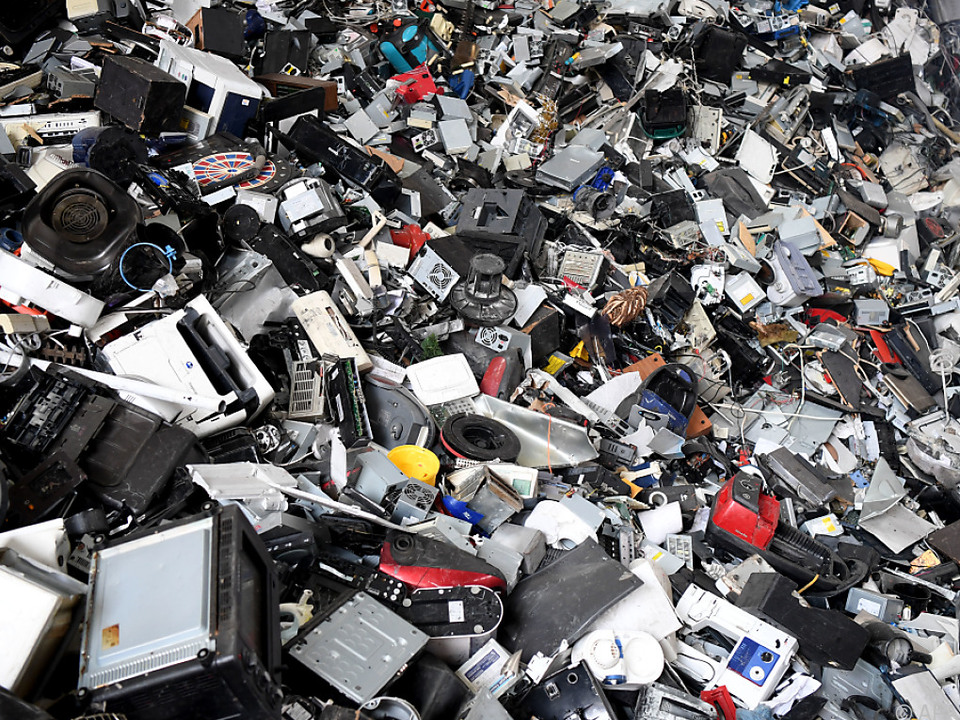 Elektroplastikschrott ist in der Regel nicht-recycelbar