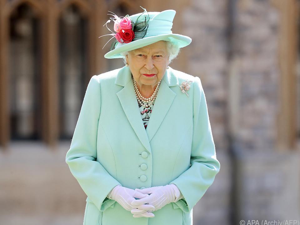 Elizabeth II. zurück auf Schloss Windsor