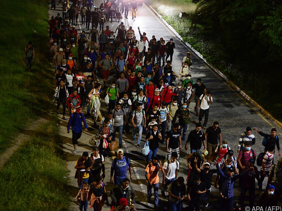 Erster größerer Marsch seit Corona-Ausbruch