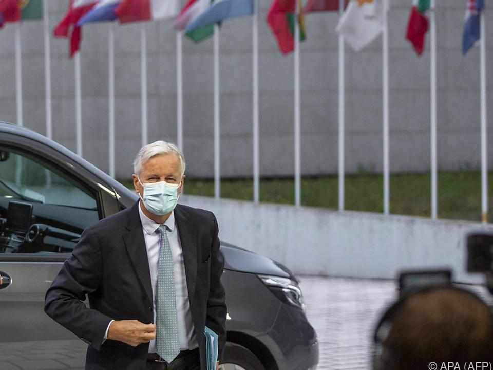 EU-Chefunterhändler Barnier berichtet über den Verhandlungsstand