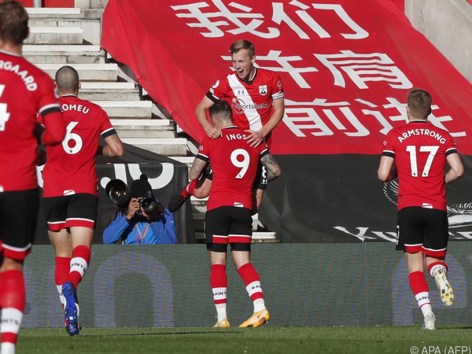 Everton stolpert über Ralph Hasenhüttls Southampton