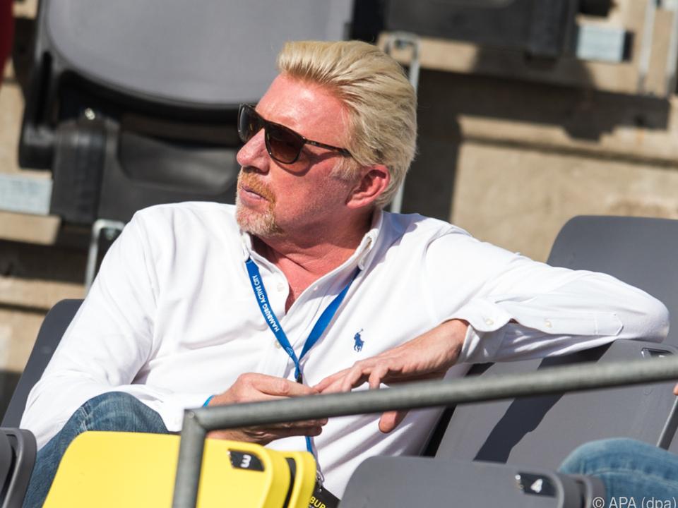 Ex-Tennis-Ass Boris Becker hatte schon mal bessere Tage