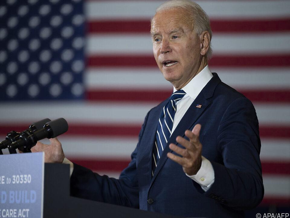 Ex-Vizepräsident Biden liegt in Umfragen vor Trump