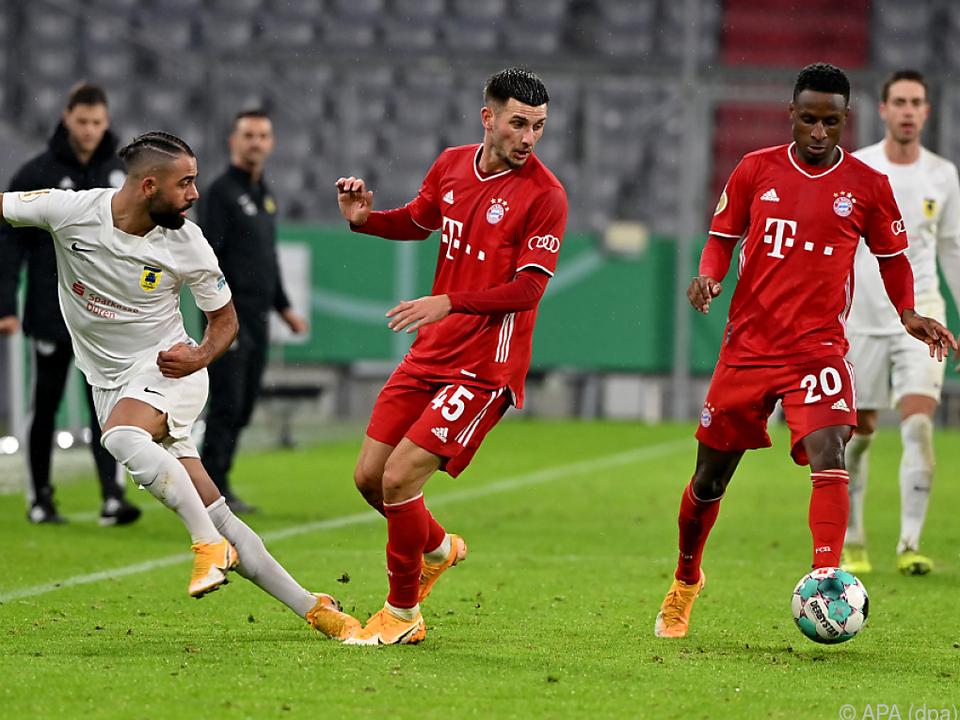 FC Bayern München zogen souverän in die nächste Runde ein