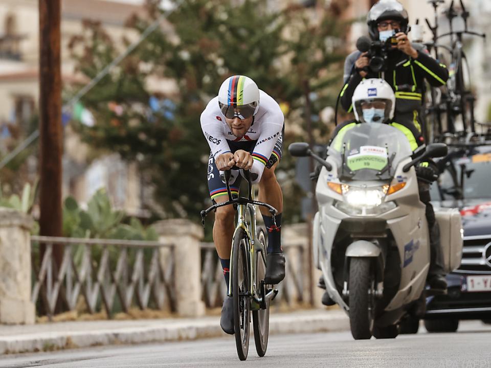 Filippo Ganna feierte überlegenen Sieg