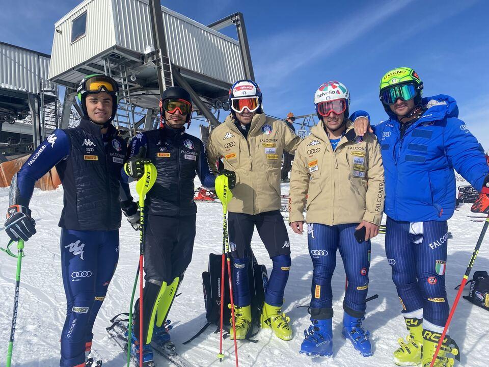 FISI_Hannes Zingerle, Roberto Nani, Manfed Mölgg, Luca de Aliprandini, Tommaso Sala