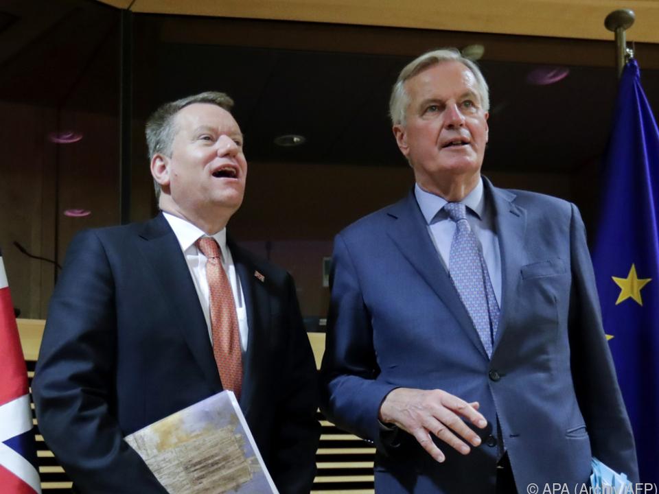 Frost und Barnier telefonierten miteinander