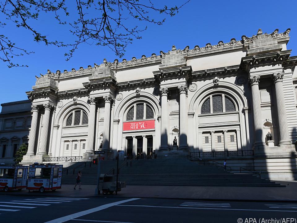 Gemälde wird in Metropolitan Museum gezeigt
