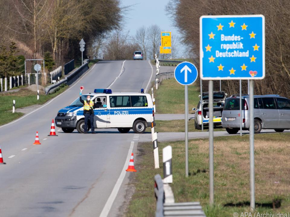 Grenze zwischen Österreich und Bayern
