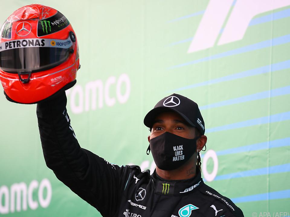 Hamilton radiert Schumacher langsam aus allen F1-Geschichtsbüchern
