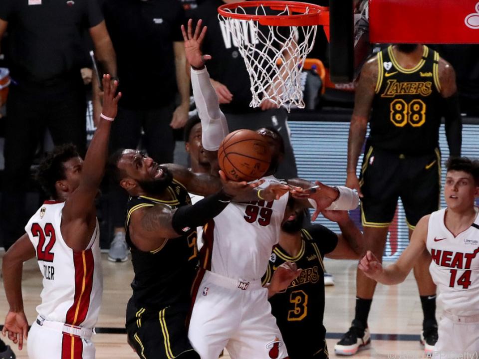 Heat siegten im fünften Spiel 111:108