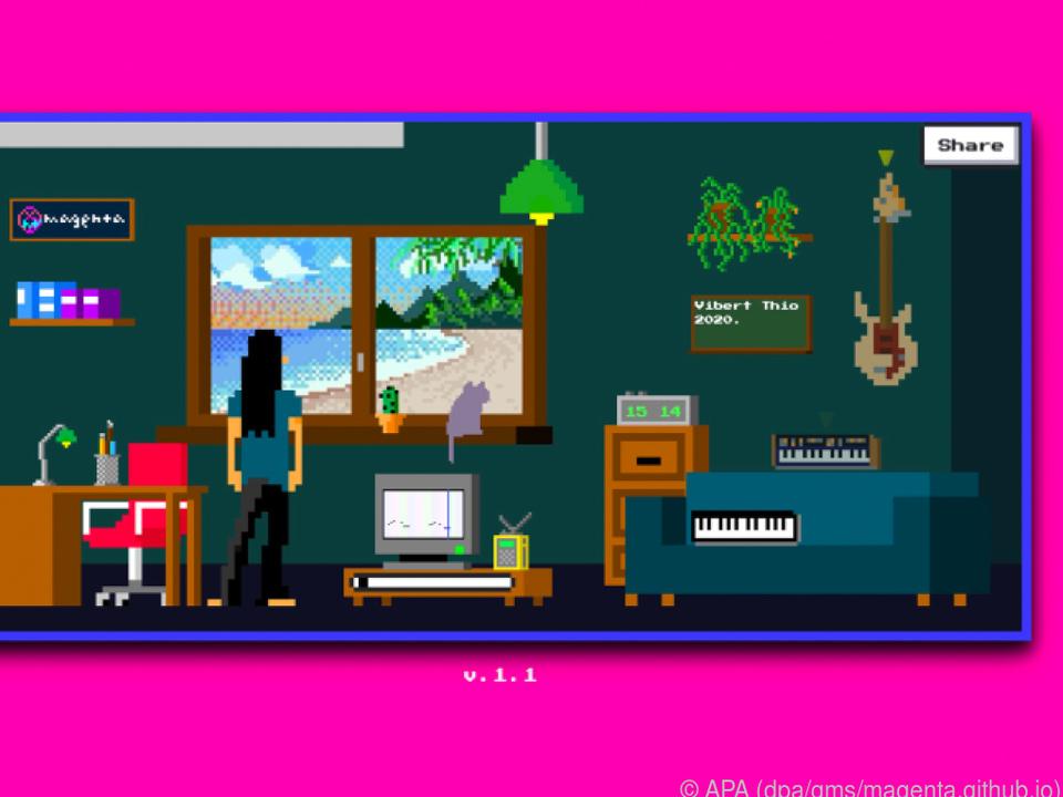 Im Musikzimmer:ÊMit dem Lo-Fi-Player Beats bauen