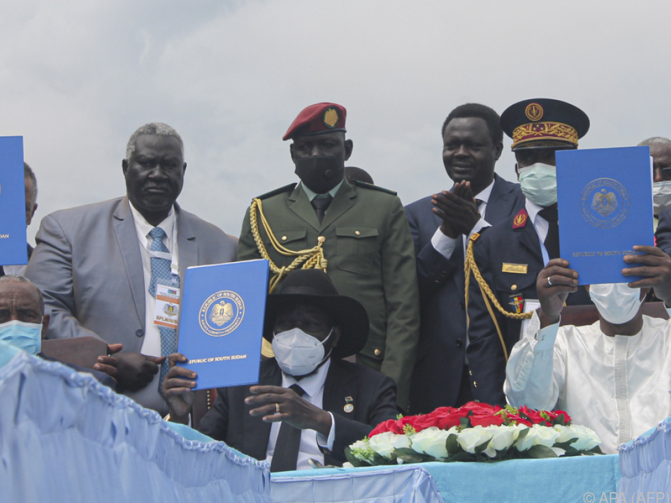 Im Sudan soll endlich Frieden einkehren