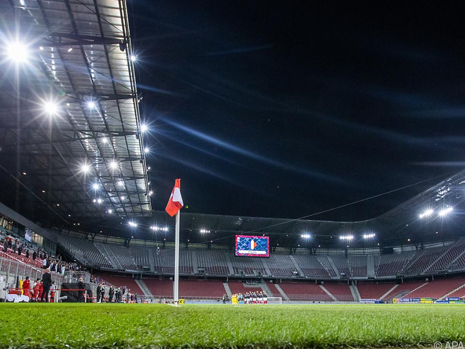 Im Wörthersee-Stadion sind am Mittwoch 3.000 Zuschauer erlaubt