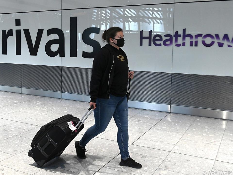 In Heathrow ist wegen Corona deutlich weniger los