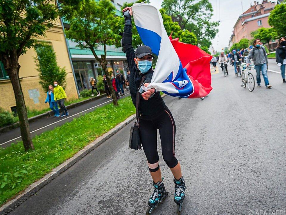 In Slowenien gibt es einen partiellen Lockdown