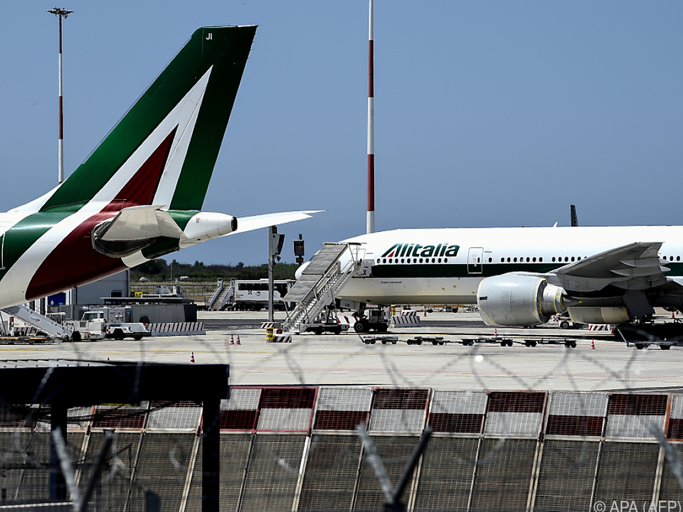 Italiens Fluggesellschaft macht seit 2002 keinen Profit