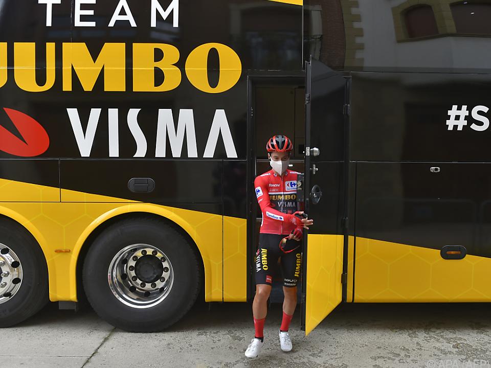 Jumbo-Fahrer Roglic dominiert derzeit die Vuelta