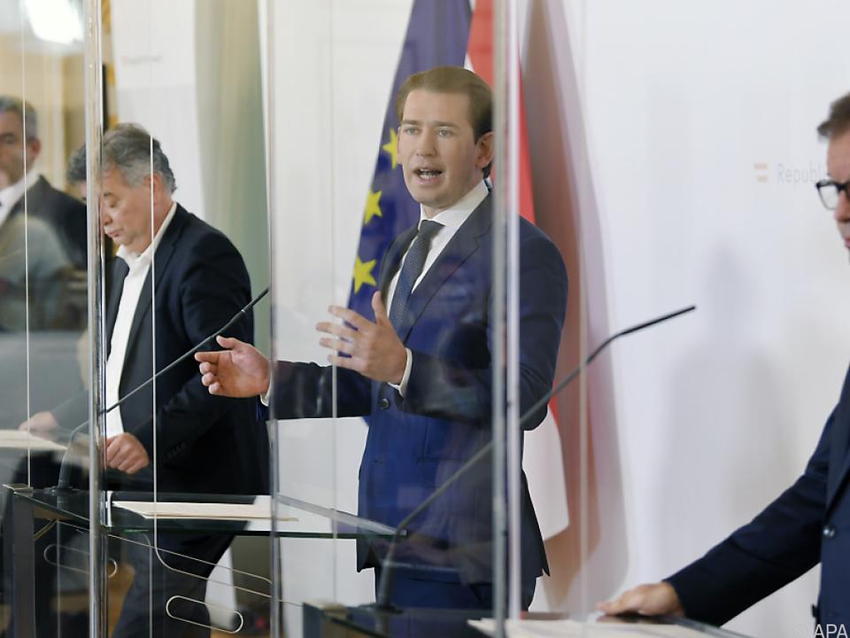 Kanzler Kurz schwört Österreich auf  \