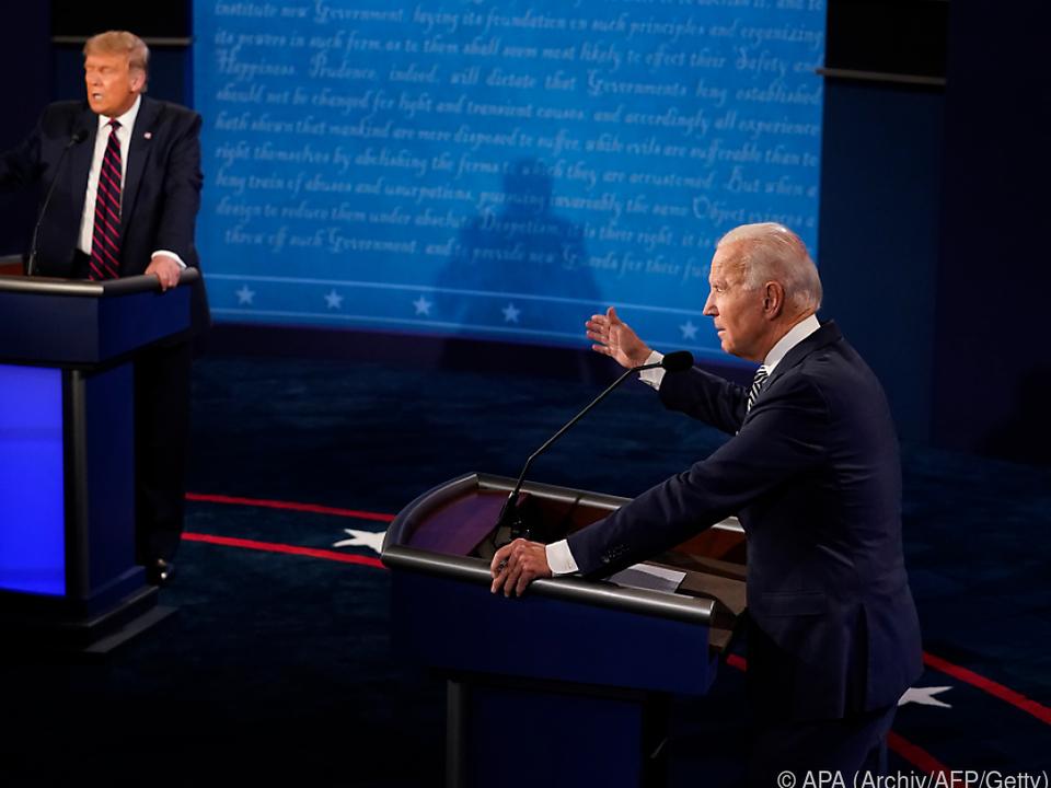 Kein TV-Duell zwischen Trump und Biden