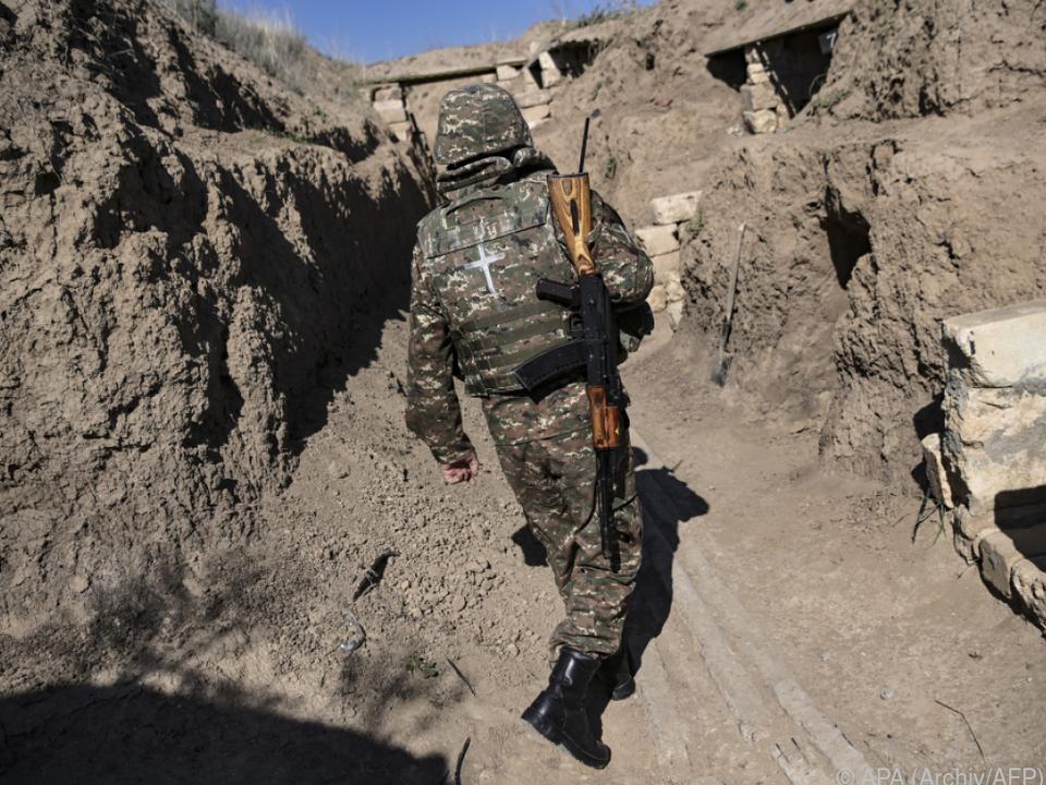 Keine Einigung auf neue Feuerpause in Berg-Karabach