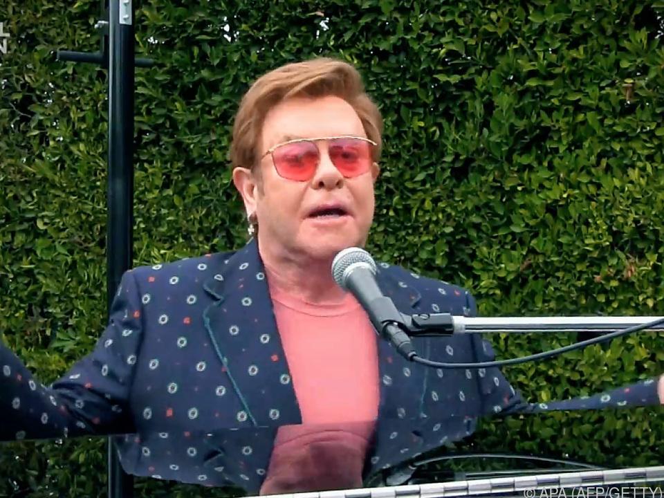 Klage gegen Elton John eingereicht