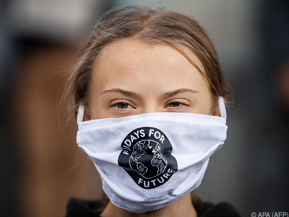 Klimaaktivistin Greta Thunberg machte einen Rückzieher