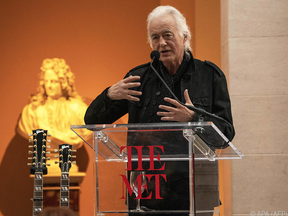 Langwieriger Sieg für Led-Zeppelin-Gitarrist Jimmy Page
