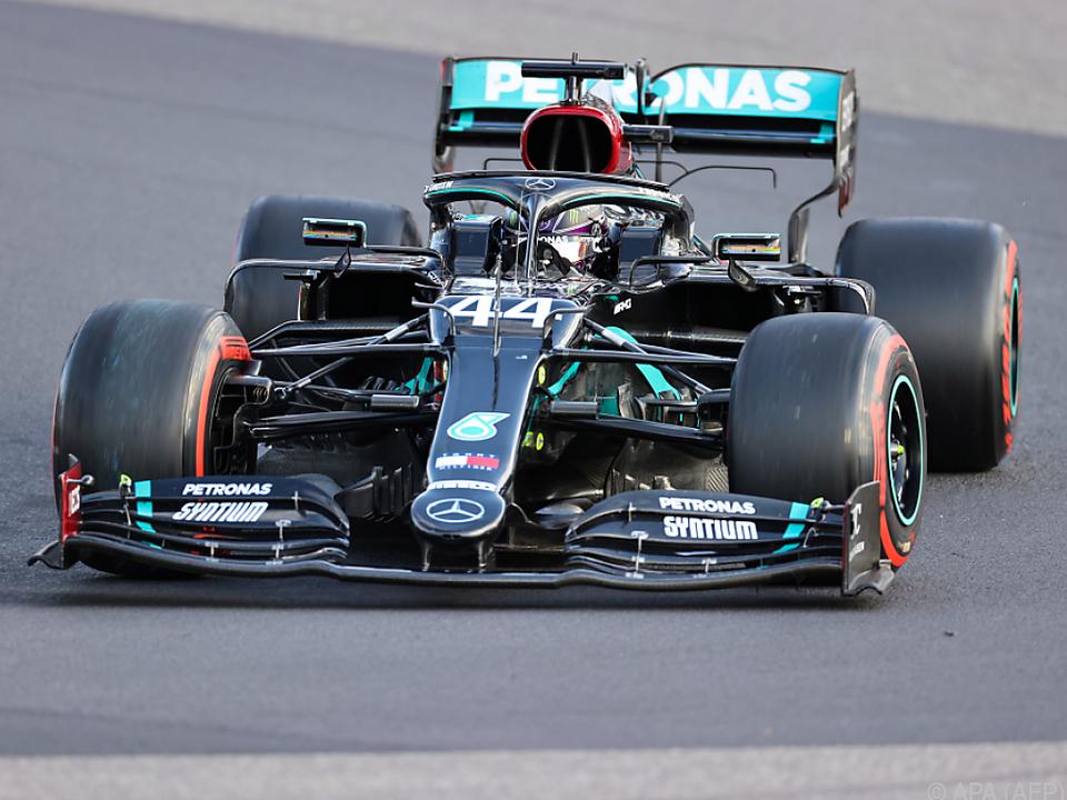 Lewis Hamilton ist nicht zu bremsen